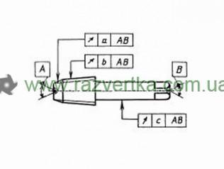 Метчик машинный трубная коническая резьба (Rc) ГОСТ 6227 чертеж