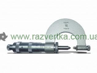 Микрометры резьбовые со вставками тип МВМ 0-25 Гост 4380-63