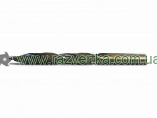 Сверла по металлу оснащенные твердосплавными пластинами ВК8 с цилиндрическим хвостовиком ГОСТ 22735