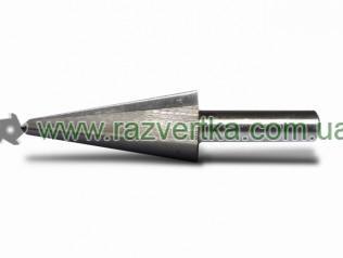 Сверла по металу конусные с цилиндрическим хвостовиком HRC 61±2 (3-14)
